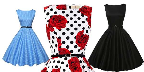 Vestido fifties Grace Karin chollo en Amazon Moda