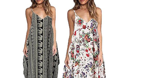 Vestido de tirantes para mujer Yidarton chollazo en Amazon Moda