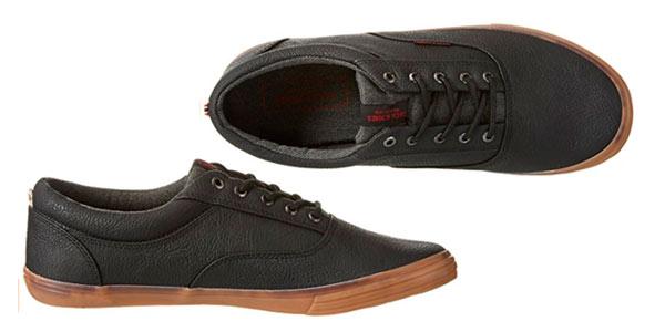 Zapatillas bajas Jack & Jones Jfwvision en color negro para hombre al mejor precio