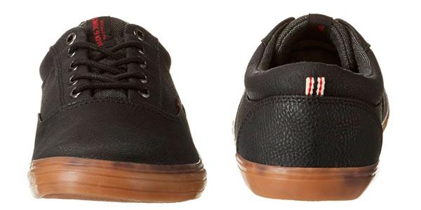 Zapatillas Jack & Jones en piel negra para hombre baratas en Amazon