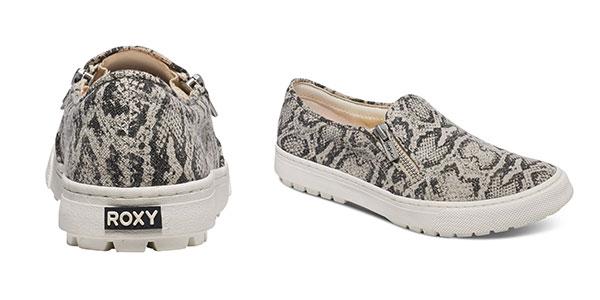 Zapatillas de mujer Roxy Juno sin cordones