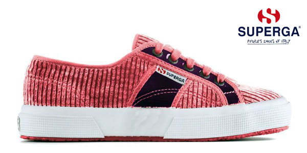 Zapatillas para mujer Superga Corduroy PatentLeaw chollazo en eBay