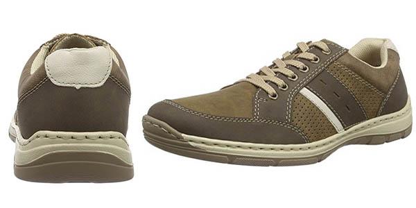 zapatos cómodos, flexibles y acolchados Rieker 15215 chollo