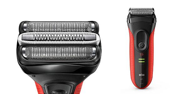 Afeitadora eléctrica Braun Series 3 ProSkin 3030s en color rojo al mejor precio en Amazon
