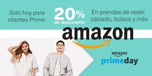-20% en selección de Moda en el Amazon Prime Day. ¡CORREEEE!