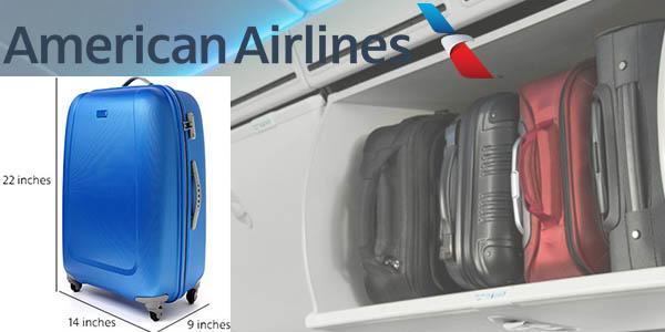 American Airlines medidas de equipaje de cabina 2017