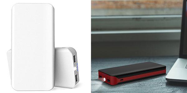 Batería GRDE de 25000 mAh dual rojo negro al mejor precio en Amazon