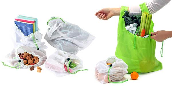 bolsas multiuso para organización de la compra y la nevera baratas