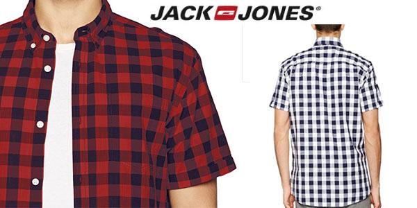 camisa en cuadros de colores Jack & Jones para hombre