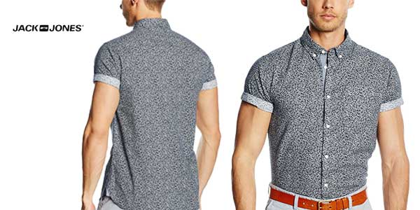 Camisa manga corta para hombre david de jack & Jones chollazo en Amazon