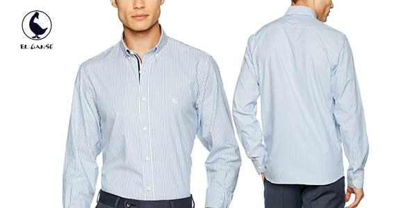 Camisa Classic Fit yale de El Ganso chollo en Amazon