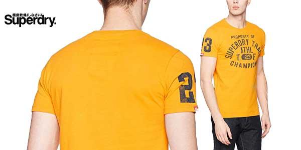 Camiseta para hombre Trackster de Superdry chollazo en Amazon