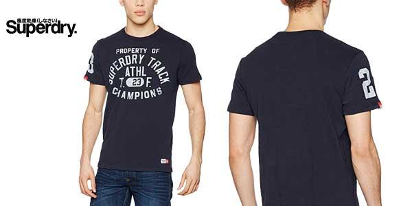Camiseta para hombre Trackster de Superdry chollo en Amazon