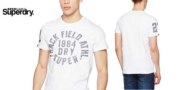 Camiseta para hombre Trackster de Superdry chollo en Amazon Moda