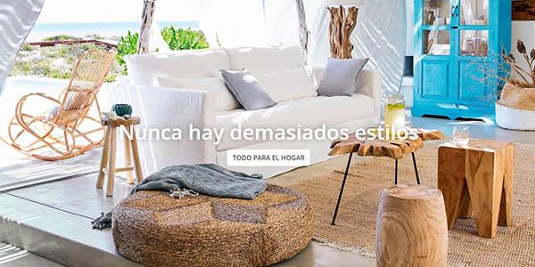 chollos en muebles para el hogar en las Segundas Rebajas de Maisons du Monde verano 2017