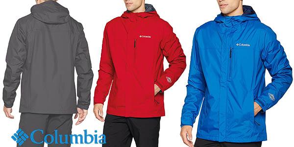 Columbia Pouring Adventure chaqueta senderismo hombre barata