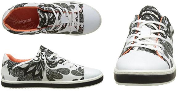 Chollo Sneakers Desigual Blancas y Negras