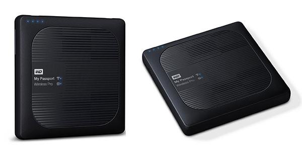 Disco duro externo portátil My Passport Wireless de 4TB Wi-Fi USB 3.0 en Amazon