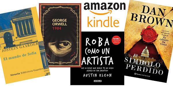 eBooks Kindle con descuentos especiales y títulos para todos