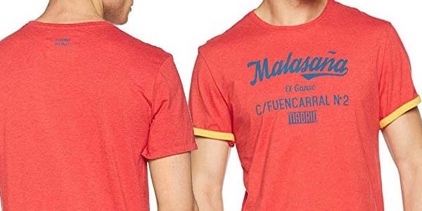 El Ganso camiseta diseño casual para hombre chollo