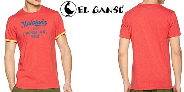 El Ganso Malasaña camiseta manga corta barata