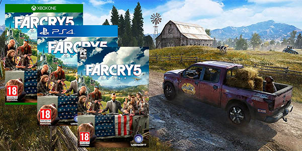 Far Cry 5 para PC Steam, PS4 y Xbox One