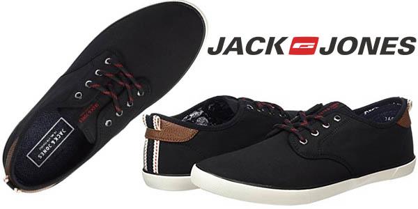 Jack & Jones Canvas Anthracite zapatillas casual para hombre baratas