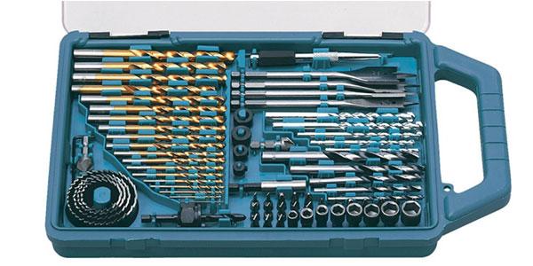 Juego de brocas barato Makita P-44024 con 75 piezas