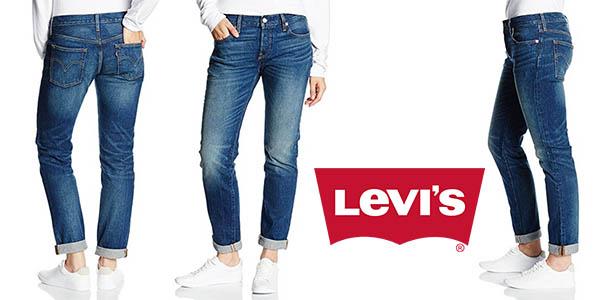 Levi's CT vaqueros rectos para mujer baratos