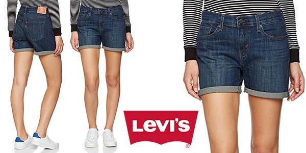 Levi's Mid Lenght Short Update vaqueros cortos para mujer baratos