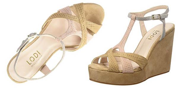 Lodi Yola sandalias con plataforma para mujer oferta