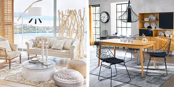 Maisons du Monde rebajas en mobiliario para el hogar con grandes descuentos