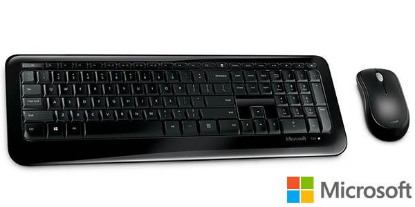 Teclado y ratón inalámbrico Microsoft Wireless Desktop 850