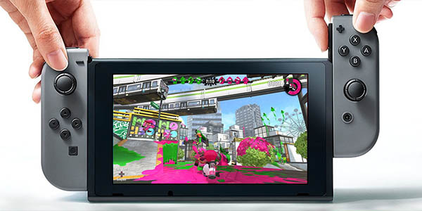 Nintendo Switch + Splatoon 2 barata