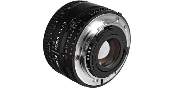 Objetivo Nikon AF Nikkor 50mm f/1.8 D barato en eBay