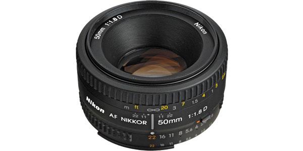 Objetivo Nikon AF Nikkor 50mm f/1.8 D chollazo en eBay