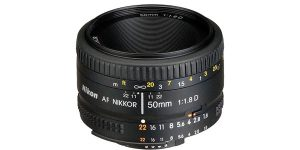 Objetivo Nikon AF Nikkor 50mm f/1.8 D chollo en eBay