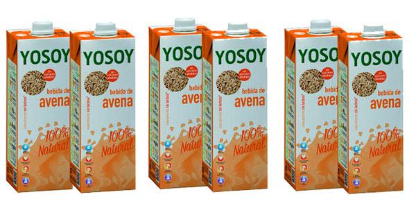 Pack de 6 unidades de bebida de avena Yosoy al mejor precio en Amazon