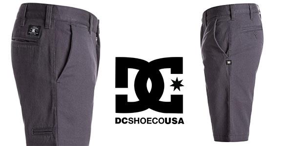 Shorts chinos DC Shoes EDYWS03053 skinny slim para hombre muy baratos