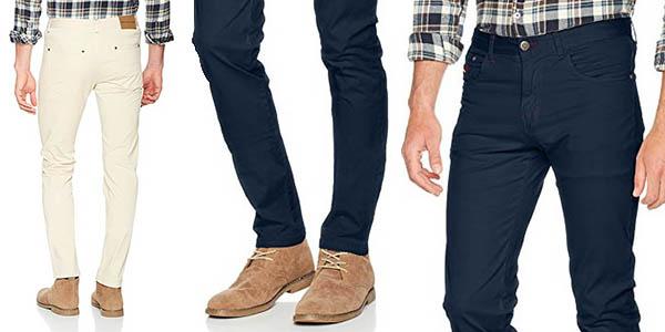 pantalones elásticos pitillo Spagnolo chollo