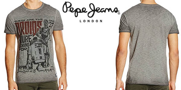 Pepe Jeans Droids Star Wars camiseta para hombre barata