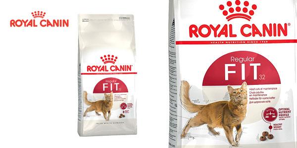 Pienso para gatos Royal Canin Regular Fit32 bolsa 10 kg chollo en Amazon