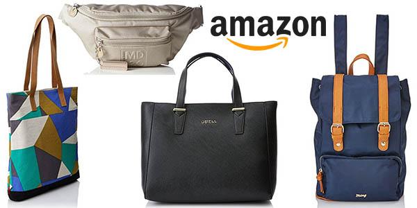 Promoción con descuento adicional en bolsos carteras y mochilas para clientes Amazon Prime julio 2017