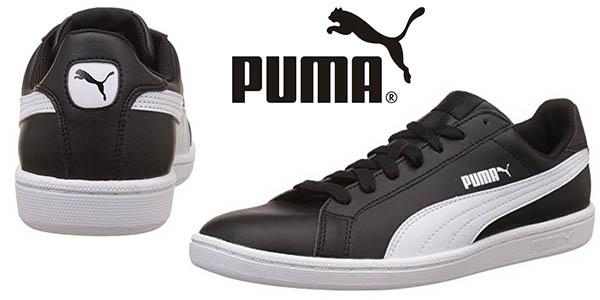 Puma Smash L zapatillas unisex en negro baratas