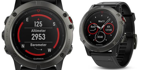 Garmin Fēnix 5X Zafiro con GPS