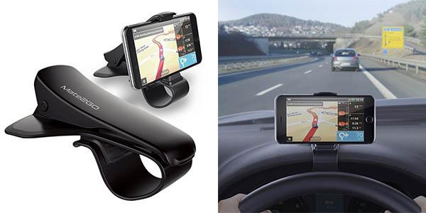 soporte de coche para teléfono móvil relación calidad-precio genial
