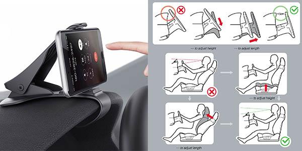 soporte para guantera de coche para llevar el smartphone barato y resistente