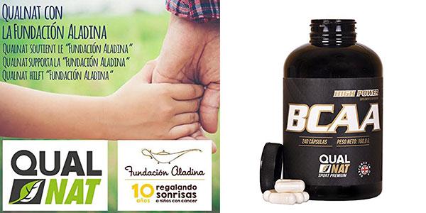 Suplemento de aminoácidos BCAA para deportistas con 240 cápsulas al mejor precio en Amazon