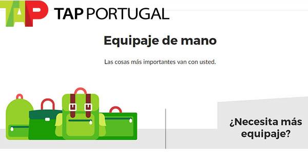 TAP Portugal medidas equipaje de cabina