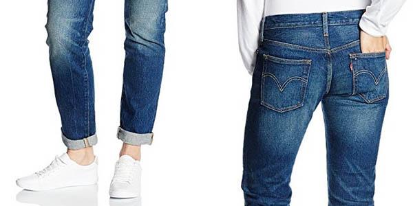 tejanos Levi's 501 Custom Tapered Leg chollo